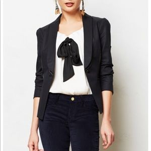 Anthropologie gamine tuxedo blazer